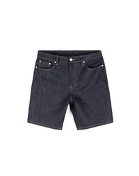 Raw Short Indigo Blue / Little Half