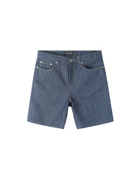 Premium Short Indigo / Little Half