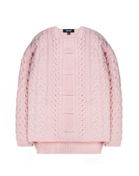 Heavy Twist Knit Pink / Semiover
