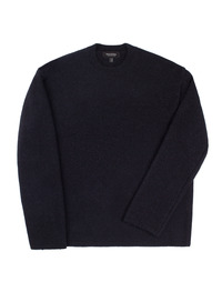 Oversize Alpaca Knit Black / Over Fit