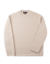 Oversize Alpaca Knit beige / Over Fit