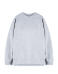 [W]Oversize Sweatshirt Grey / Over Fit