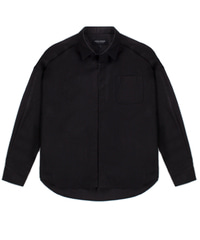 Oversizing Shirket Black / Semiover