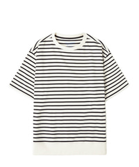 Stripe Shot Sleeve - White